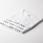 Белая футболка On-The-Go