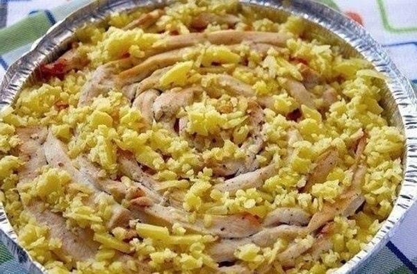 Вкуснейшая зaпeкaнка из куриного филе с грибами., изображение №5