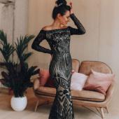 """Вечернее платье """"Aisha Black"""""""