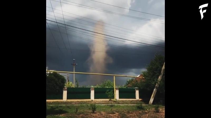 Смерч в Беляевском районе, Украина ¦ Tornado in the Belyaevsky district, Ukraine