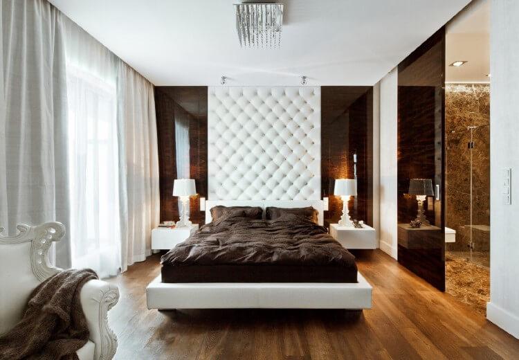 О выборе материалов для отделки стен в спальне, изображение №5