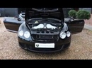 Bentley Continental GT 6.0L W12 Automatic in Beluga Black with Saffron Leather