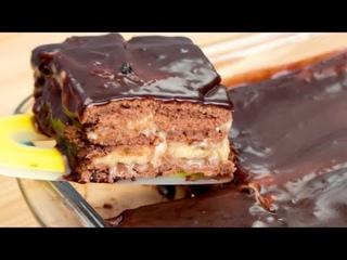 Угощайтесь! Вкусный и быстрый Банановый торт с печеньем(Ингредиенты под видео)   Больше рецептов в группе Кулинарные Рецепты