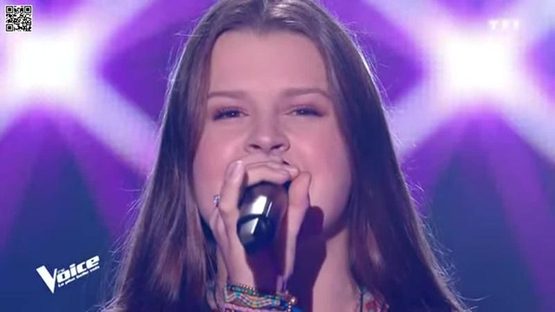 Шоу Голос Франция 2020 - Алиса с песней Всё, о чем я прошу– The Voice France. - Alice - All I ask
