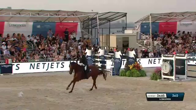 Ben Maher and Explosion W win the LGCT Grand Prix of New York