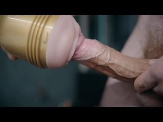 Трахнул мастурбатор fleshlight дрочит искусственная вагина solo male big dick creampie