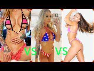 Sarah Jessie VS Madelyn Monroe VS Gia Derza 🔞