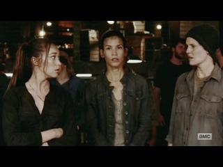 Бойтесь ходячих мертвецов 6 сезон 11 серия Алиша Кларк и Алфия #Бойтесь ходячих мертвецов 6 сезон 11 серия Алиша Кларк и Алфия #
