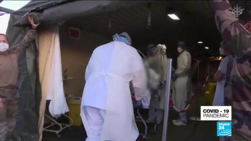 Coronavirus Covid 19 French President Macron orders military to join virus
