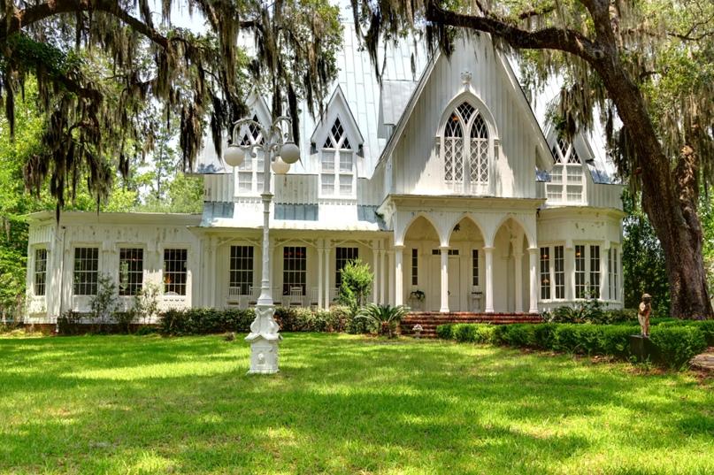 Особняк Роуз Хилл в Блаффтоне, Южная Каролина.