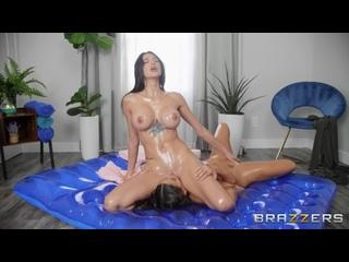 Luna Star, Azul Hermosa - A Naughty Nuru Massage - Lesbian Sex Oil Milf Latina Big Tits Juicy Ass Chubby Boobs Booty Busty, Porn