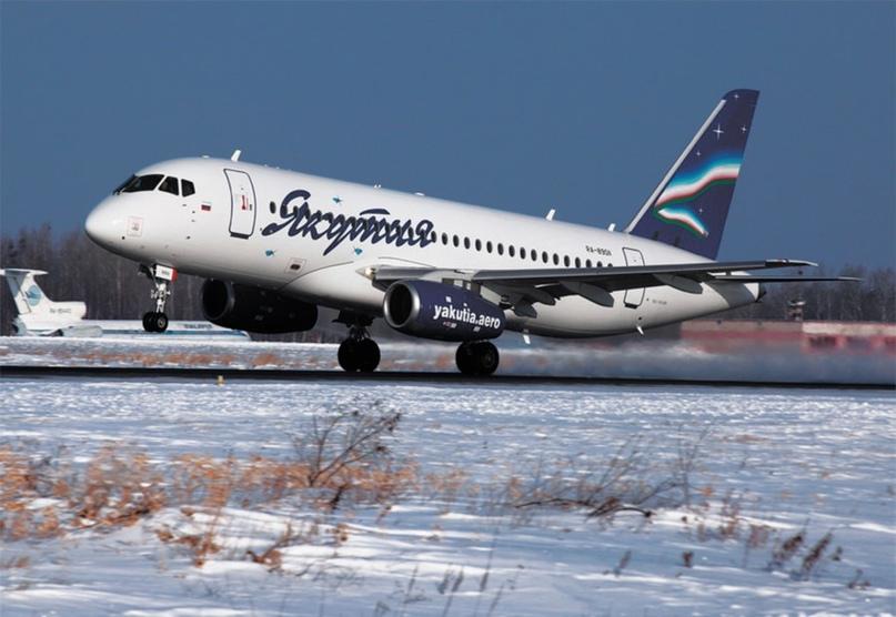 Авиакомпания «Якутия»: Эксплуатация самолетов Sukhoi Superjet 100 в приоритете