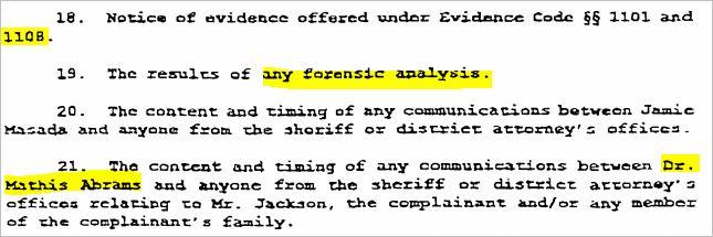 Судебные документы о деле 1993 года и злонамеренном преследовании Майкла Джексона., изображение №3