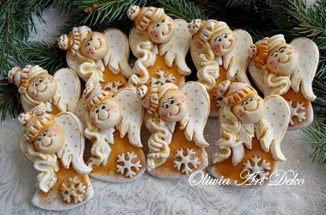 как сделать ангела из соленого текста на Новый год и Рождество своими руками, Соленые Ангелы: лепим из соленого теста, МК и идеи,