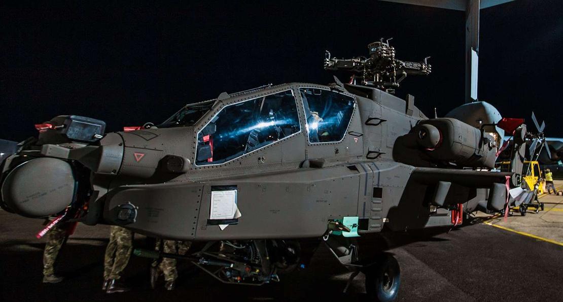 Вертолет Великобритании
