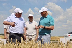 Главное аграрное событие региона прошло в Липецком районе