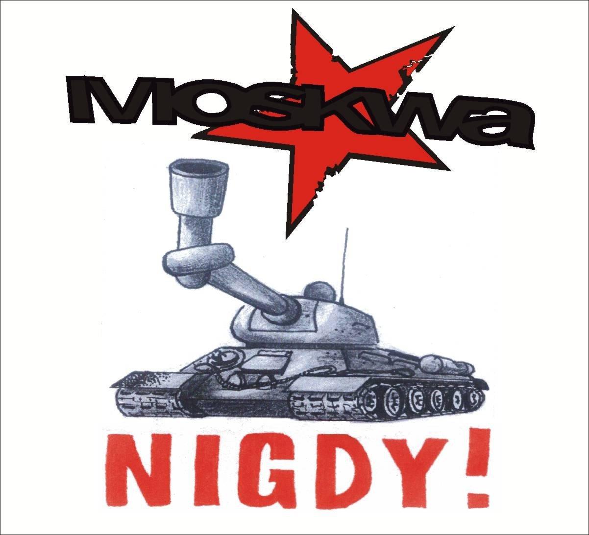 Moskwa album Nigdy!