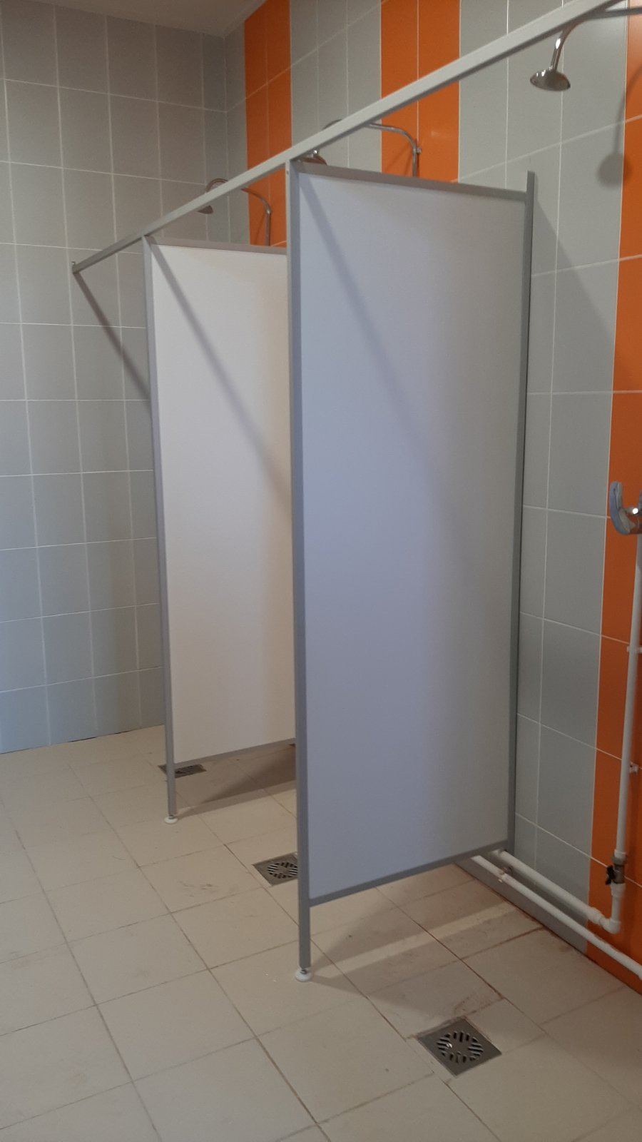 Туалетные алюминиевые перегородки Сургут