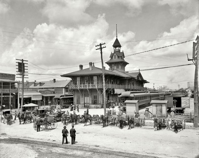 HD-фотографии городов США сделанные в 1900-1915 годах, изображение №30