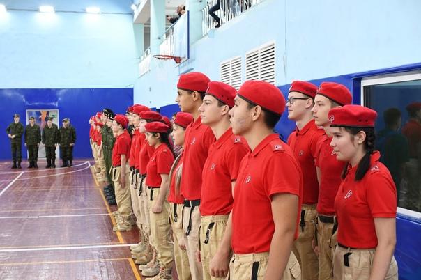 Команда юнармейцев Дудинской средней школы №3 стала победителем военно-спортивных игр «Арктика 2021»