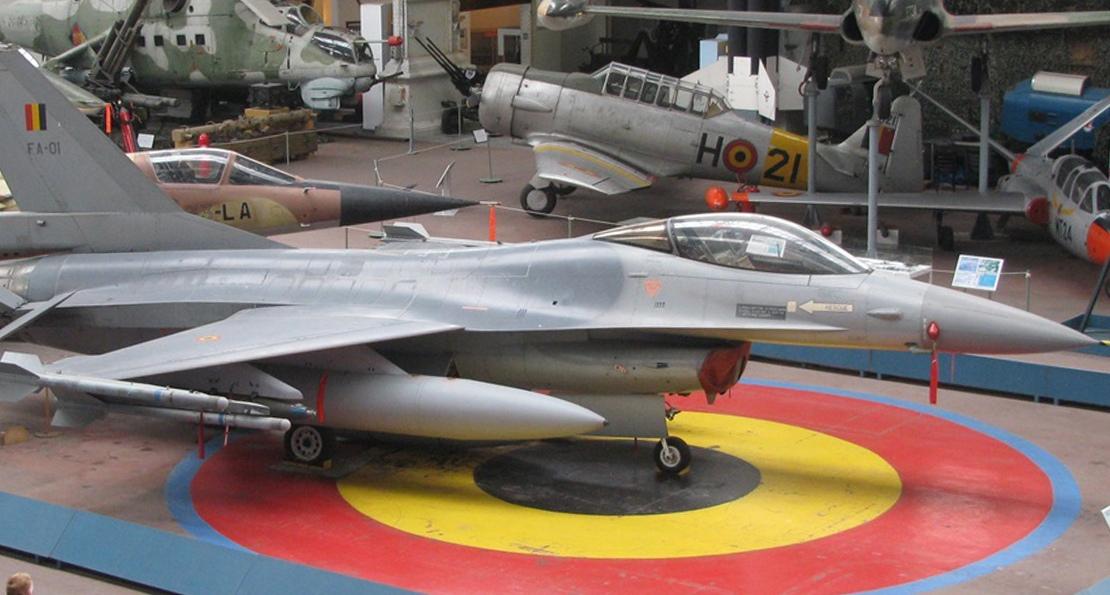 Самолеты Бельгии