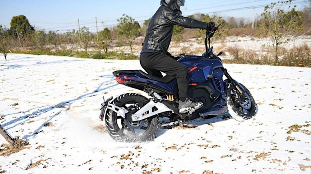 Электроцикл Alrendo TS Bravo