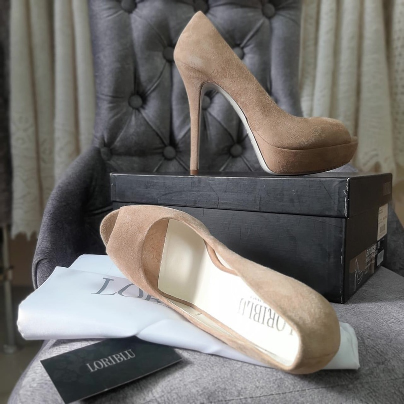 Новы туфли LORI BLU, натуральная замша   Объявления Орска и Новотроицка №16882