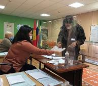 Молодёжь сознательно голосует в Липецком районе