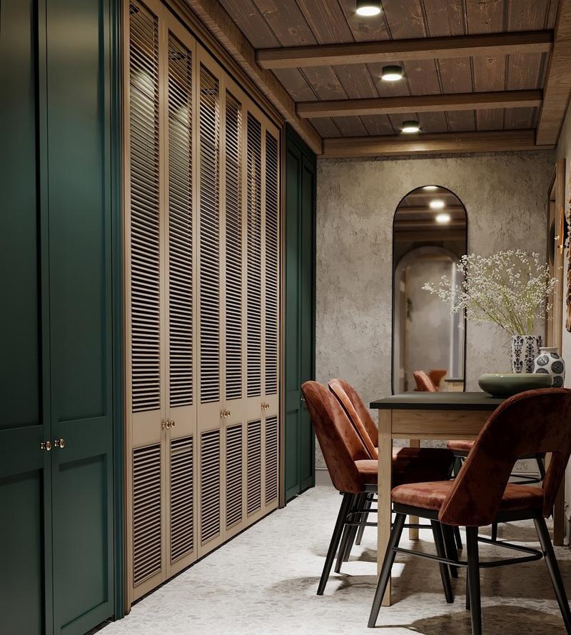 Проект апартаментов в Италии.