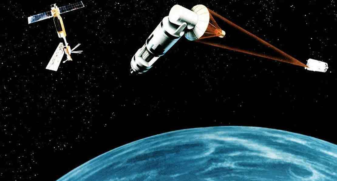 Лазер в космосе