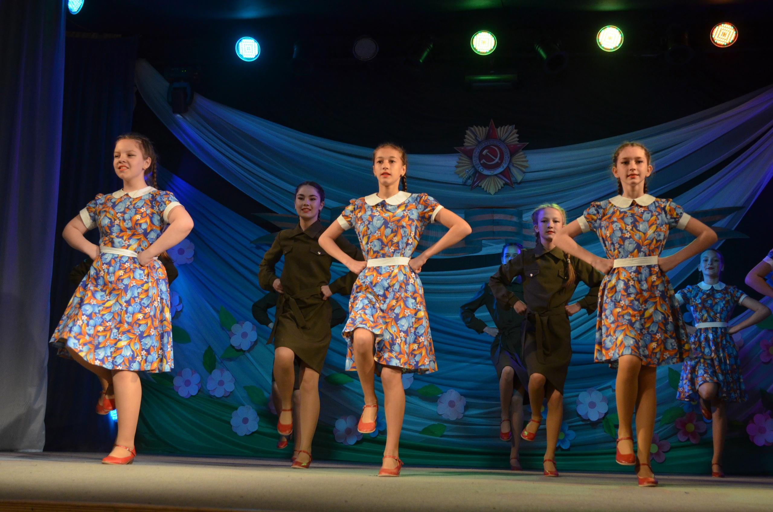 В районном Доме культуры состоялся праздничный концерт, посвящённый 76-летию победы в Великой Отечественной войне