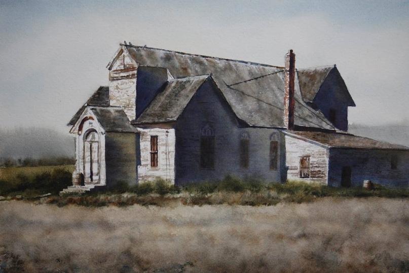 Американский художник-акварелист. Robert McFarland, изображение №49
