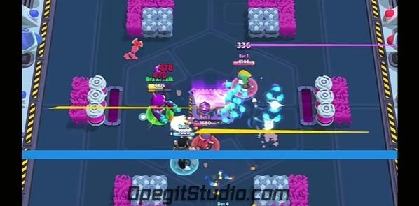 Атака нового скина Деррила. Огооонь! #BS@supercell_studio
