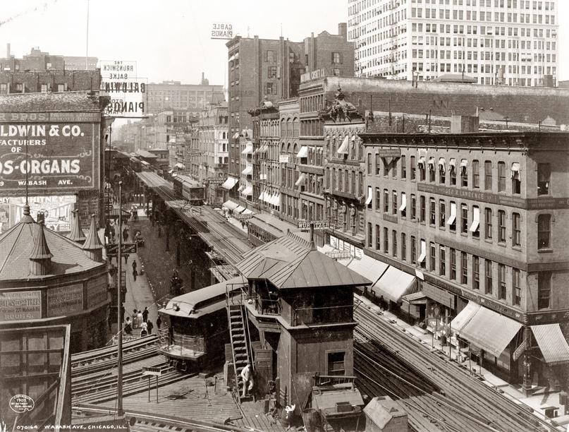 HD-фотографии городов США сделанные в 1900-1915 годах, изображение №5
