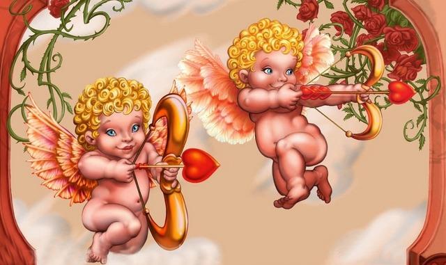 Амур и другие... - сценки и сценарии на День Влюбленных для детей и взрослых