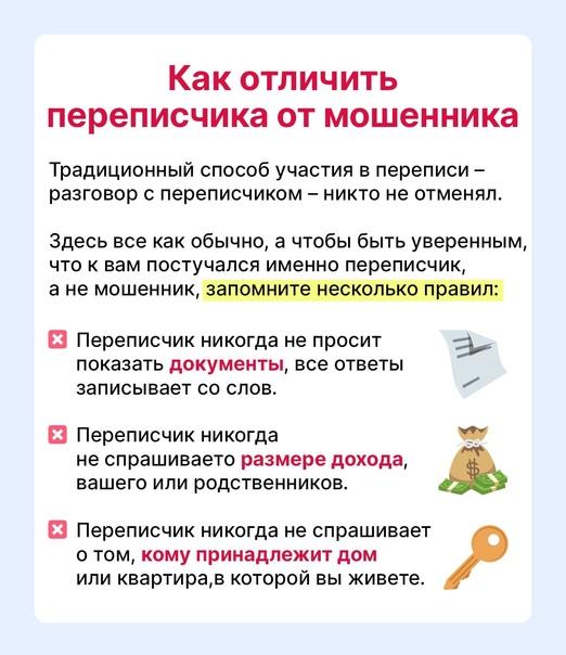 ❗️Сегодня в России стартовала перепись населения. ...