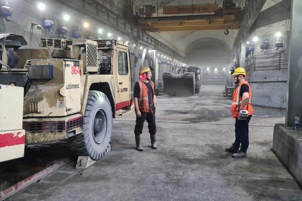 На руднике «Скалистый» построили современную подзе...