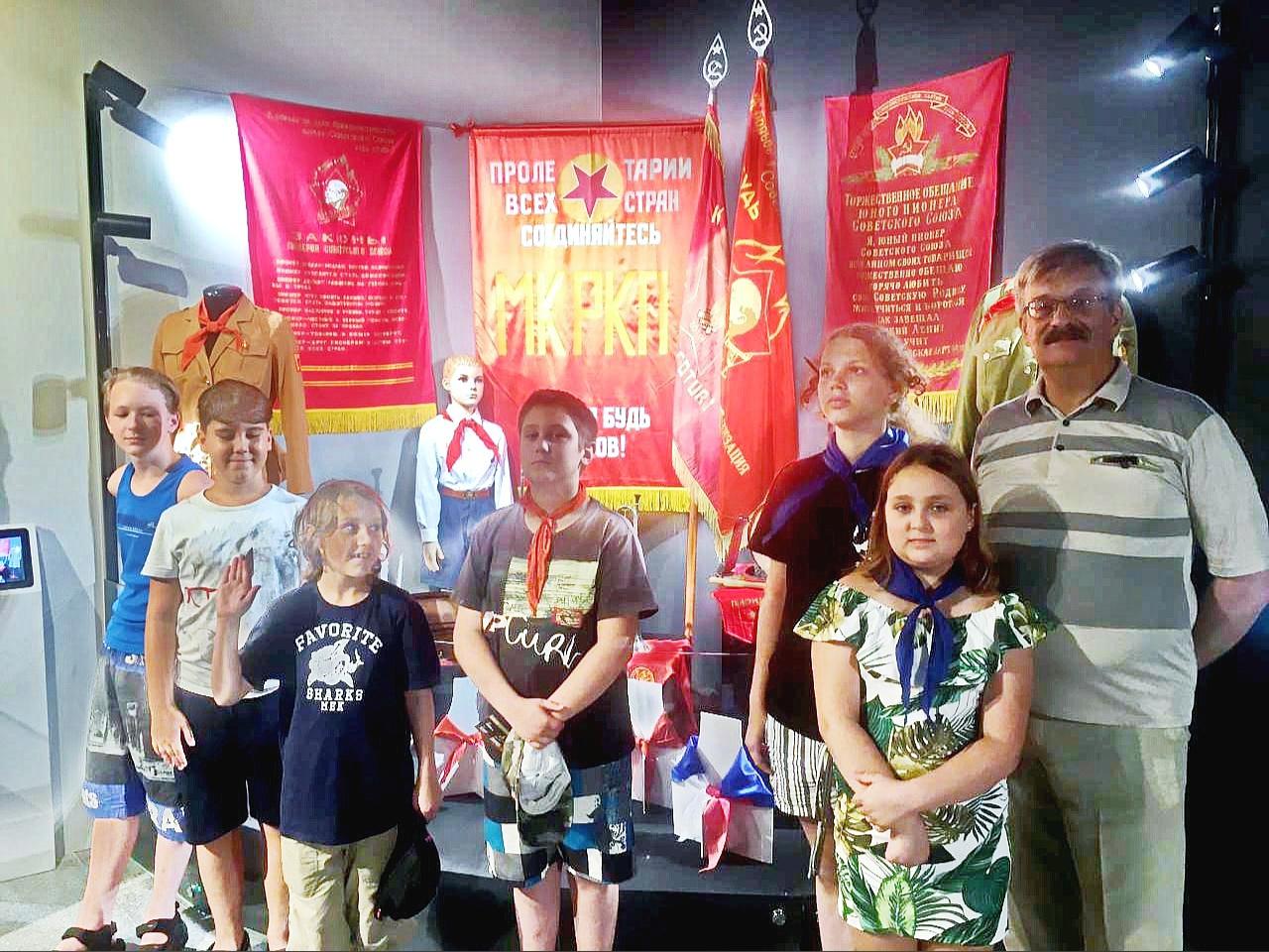 Выставка в музее Победы