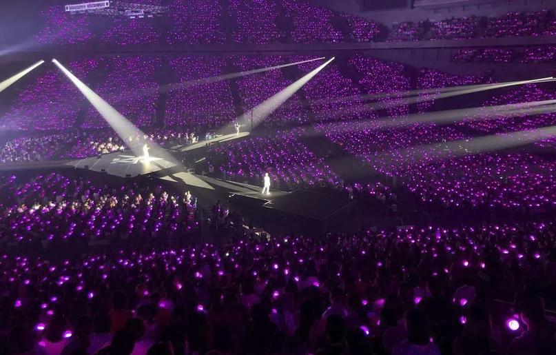Количество зрителей на онлайн к-поп концертах
