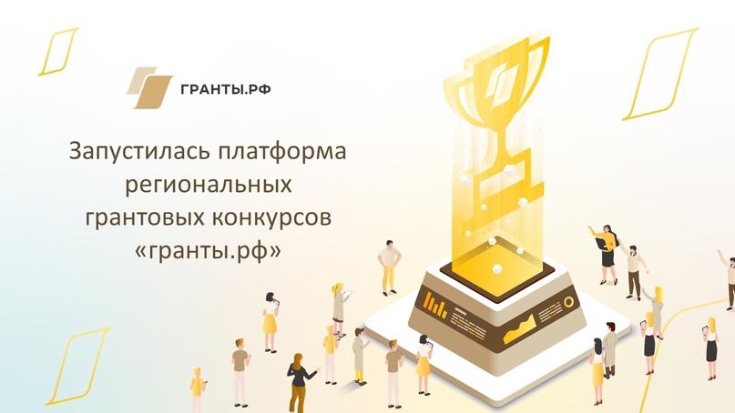 Запустилась платформа региональных конкурсов «гранты.рф», изображение №1