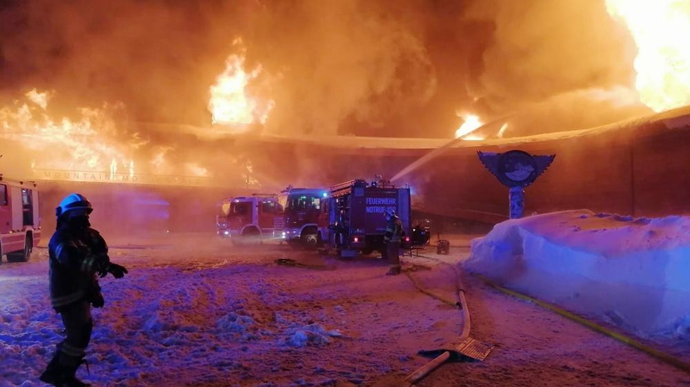 В Австрии сгорел мотомузей со всеми экспонатами