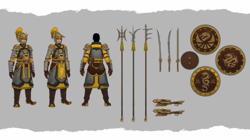 Великий Катай, новый лор Warhammer Fantasy и Total War III, изображение №8