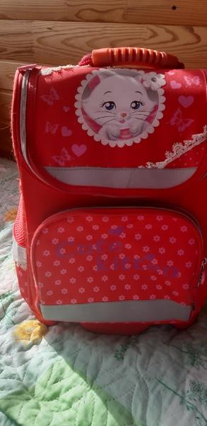 Отдам рюкзаки школьные, вещи на девочку 5-8 лет, в...
