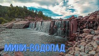 ШУМ падающей ВОДЫ - Водопад / THE SOUND OF falling WATER-Waterfall
