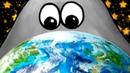 ЛИЗУН ГЛАЗАСТИК съел мир динозавров 2 Tasty planet Back for Seconds с Кидом на крутилкины