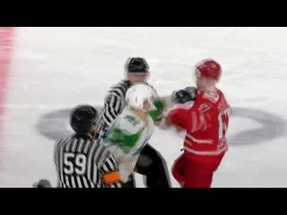 Драка Александр Черный(«Толпар») vs Егор Платонов («Авто» )