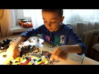 LEGO City Great Vehicles Фургон-пиццерия 60150 Илья БезНИКА