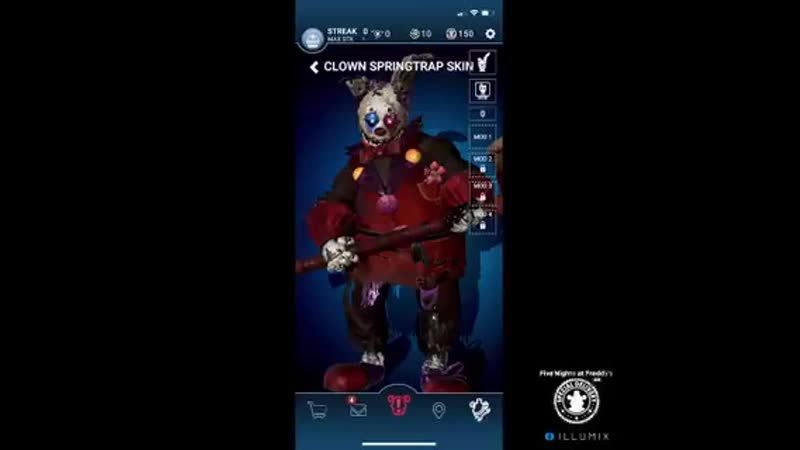 Clown Springtrap is all about fun fun fun--and he wants to make sure youre having the best time you can at the Dark Circus! - Fu