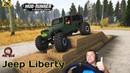 Jeep Liberty Честный Обзор мода Spintires MudRunner