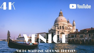 Venice Italy 🇮🇹  Walking Europe in 4k Dji Osmo Pocket